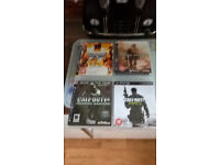 SONY PS3 CONSOLE CONTROLLER ACCESSORIES & GAMES