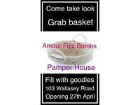 Amour Fizz Bombs Pamper House, 103 wallasey Road