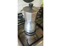 Stove top coffee maker / Moka / lacafetiere - 6 cup