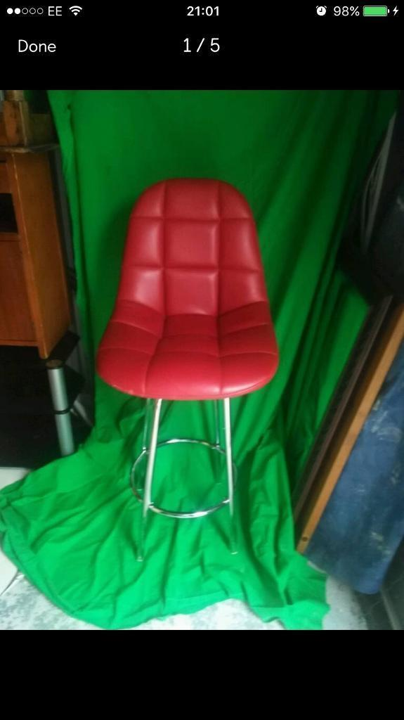 Retro bar stool FREE DELIVERY PLYMOUTH AREA