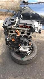 S3 BWA bare engine (knocking ligtly)