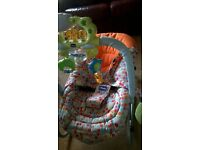 Chicco musical vibrating baby bouncer