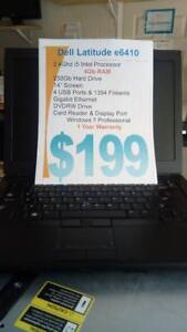 Dell Latitude e6410 - 1 Year Warranty - i5 Intel - 4Gb - 250Gb HDD - Perfect working condition.