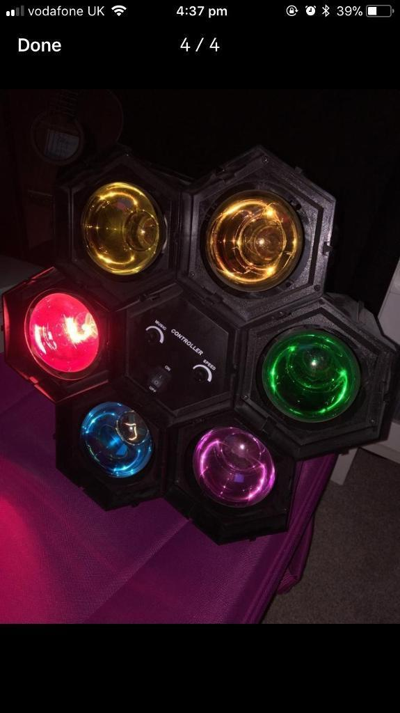 Fully functioning party lights