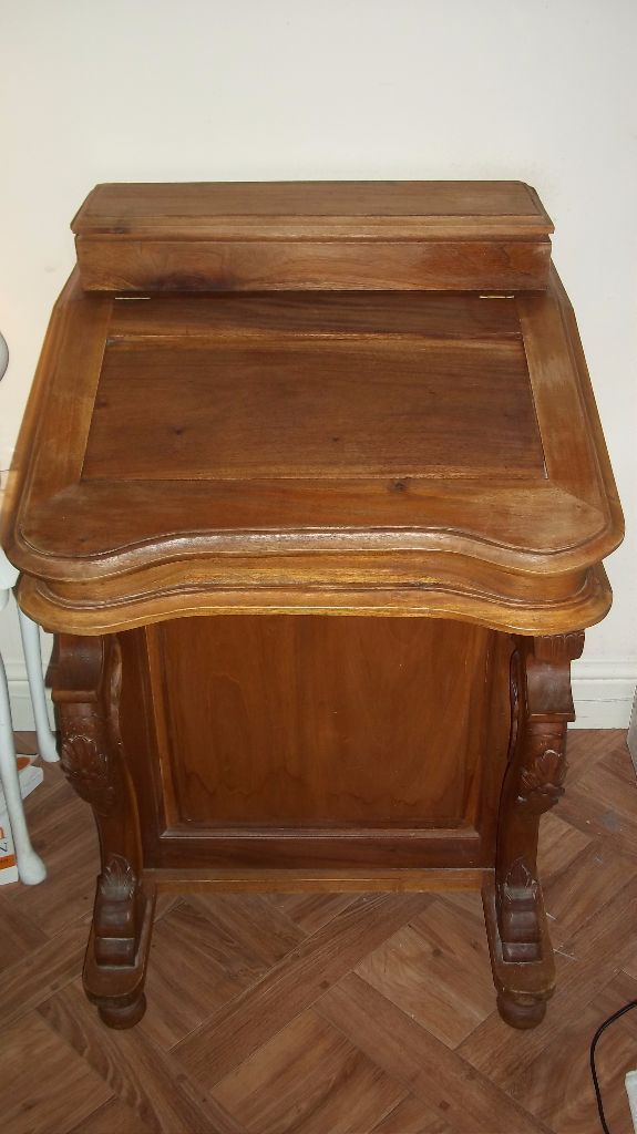 Davenport Writing Desk Antique In Woodbridge Suffolk