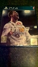 Brand new still sealed ps4 Fifa 18 unwanted xmas gift