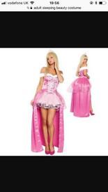 Adult sleeping beauty costume - size 8