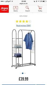 Argos clothes rail for sale