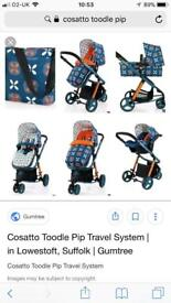 Cosatto giggle 2 travel system pushchair pram