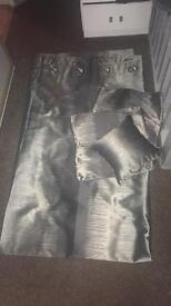 Grey & Silver Curtains