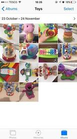 Toy bundle Vtech leap frog fisher price little tikes elc