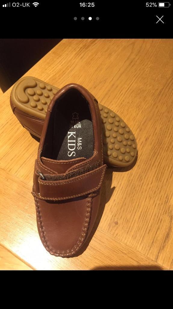 M&S boys shoes