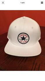 Brand New With Tags Converse All Star SnapBack White