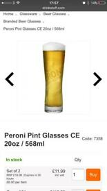 Glassware restaurant beer Pint Glasses