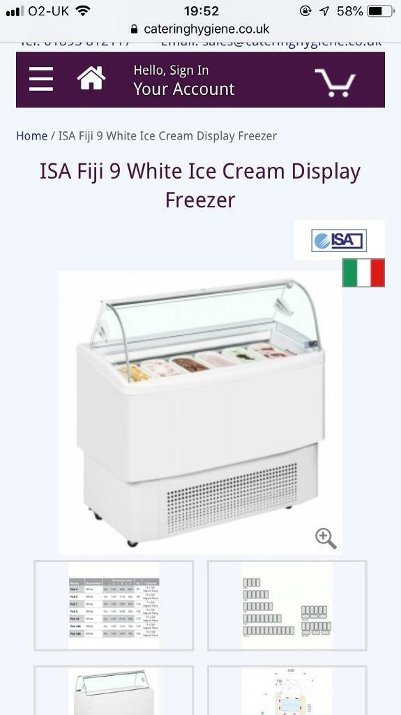 ce2188c15a 9 pan Icecream freezer | in Ealing, London | Gumtree