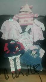 Baby girl 0/3 month clothing