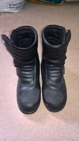 motorbike boots size 3