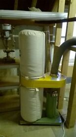 """Dast extractor for woodwork sawdust 4"""" port"""