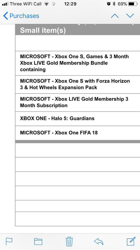 BRAND NEW XBOX ONE S with games