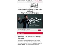 George Michael Tribute Sun 1st October - SOLD
