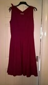 Dress from Lindy Bop Size 14. Never worn with tags