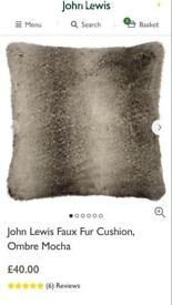 John Lewis fir cushions