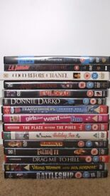 15 DVDs Job Lot - Horror, Action, Romance