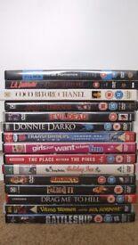 15 DVDs Job Lot - Horror, Action, Romance