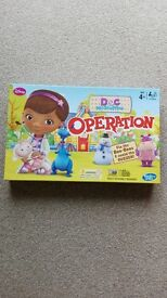 Doc Mcstuffins 'Operation' board game