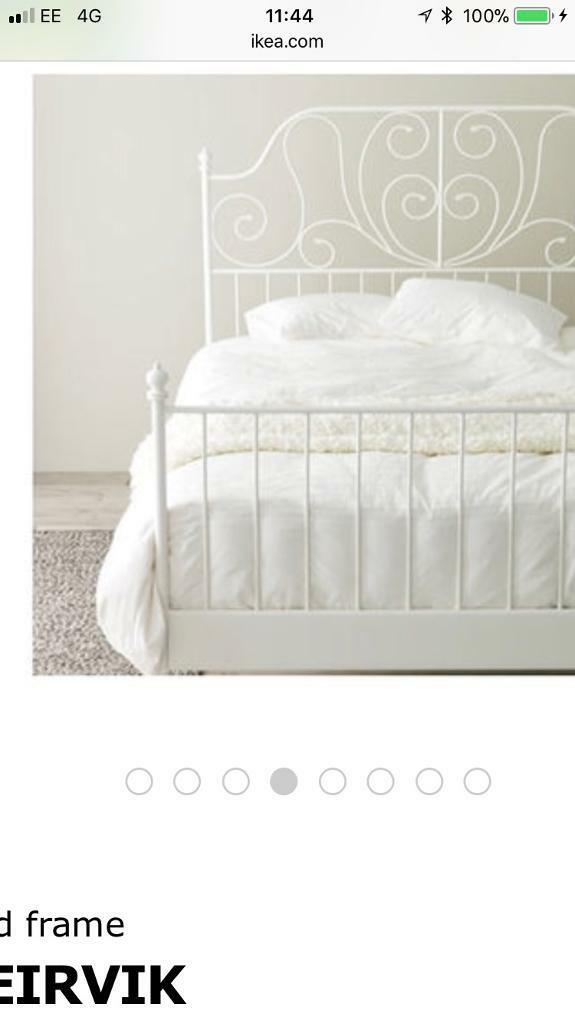 Ikea Leirvik Bed Frame | in Cramlington, Northumberland | Gumtree