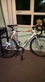 road bike £200 frame size 59 cm