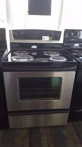 -  STAINLESS STEEL STOVES FROM $450 with WARRANTY  -   Sale  9267-50 Street Edmonton
