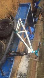 DMR reptoid complete bike frame.