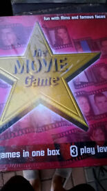 The MOVIE board game New and Unused