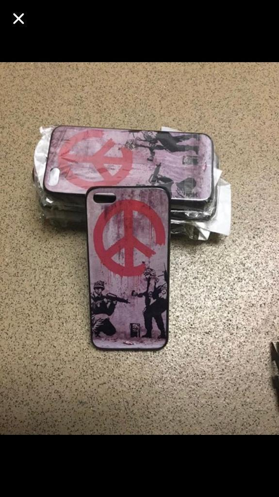 Banksy iPhone 5/5s cases
