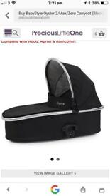 Carrycot for oyster pushchair