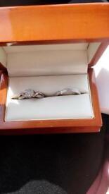 Engagment ring BRIDAL SET