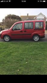 2007 Fiat Doblo Wheelchair Converted Car