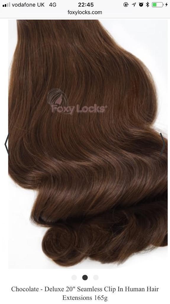Chocolate Foxy Locks Hair Extensions In Exeter Devon Gumtree
