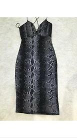 Size 10 woman's snake skin dress