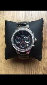 Dkny Black ceramic watch