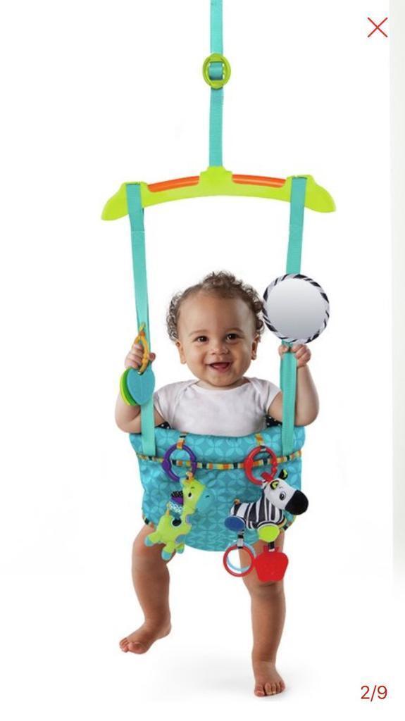 00e1732c9ada Baby door bouncer like new!