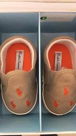 Ralph Lauren pram shoes.