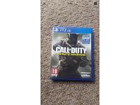 Call Of Duty: Infinite Warefare (Sony PlayStation 4, 2016)