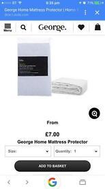 Georege home single mattress protector