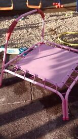 Small childs trampoline