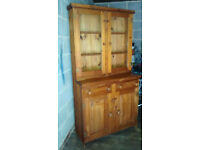 Kitchen Dresser Cuboard in Pine