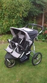 Twin Double All Terrain Pushchair