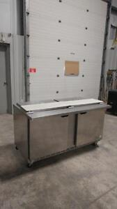 BEVERAGE AIR Stainless Steel Sandwich Table - MEGA TOP