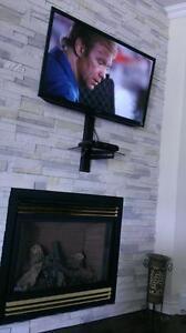 Installateur de TV mural - Support de télé inclus